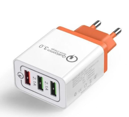 Chargeur Universel raton-malin Rouge
