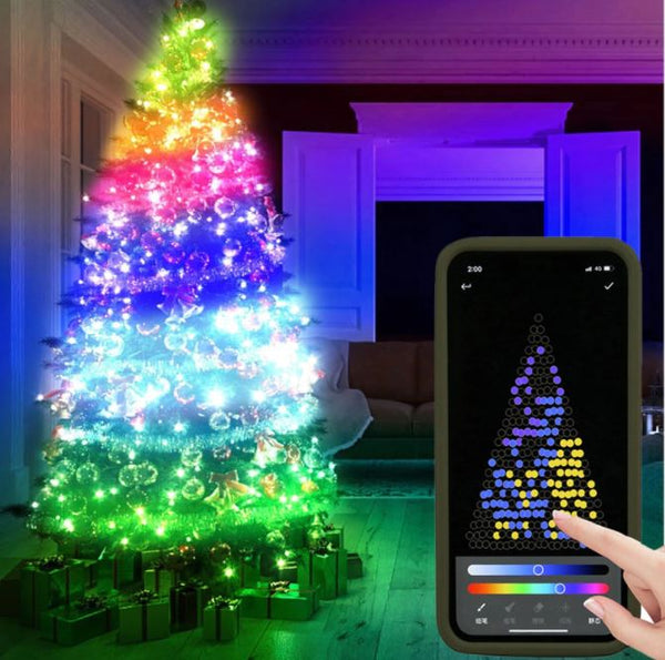 Guirlandes Lumineuses LED - Décoration de Noël Unique Flash Ventes 2m (20 leds)