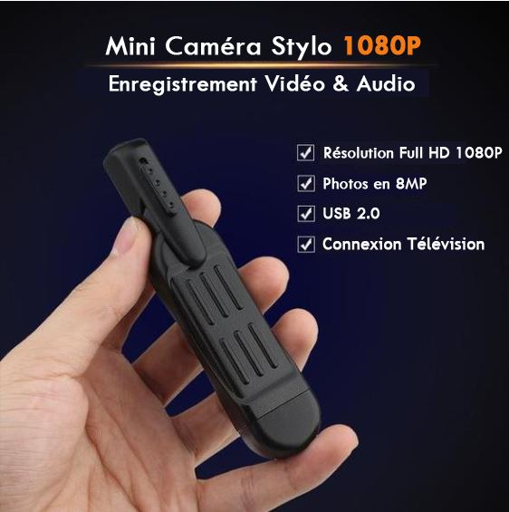 Mini Camera Stylo raton-malin