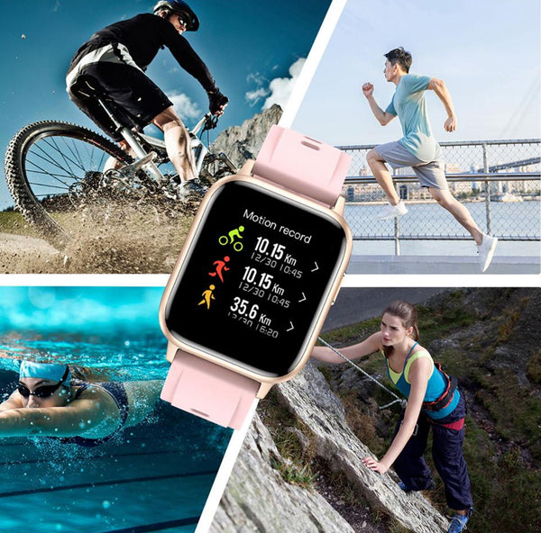 Montre Connectée Intelligente et Sportive - WatchNext™ Flash Ventes Bleu