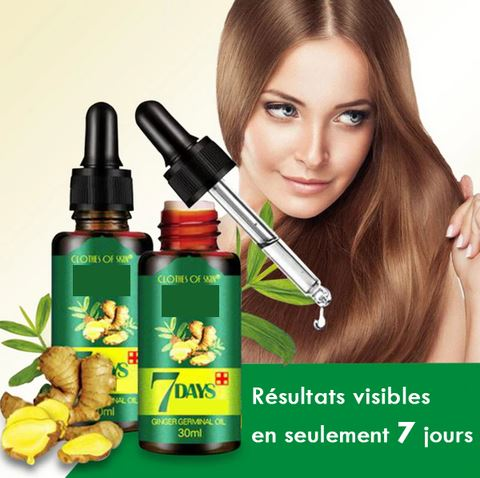 Sérum Naturel contre la perte de Cheveux Raton Malin