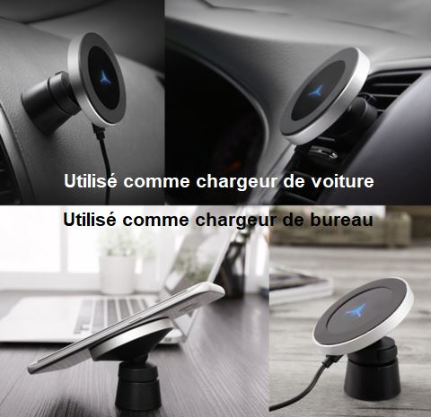 Chargeur Sans Fil Par Induction Raton Malin