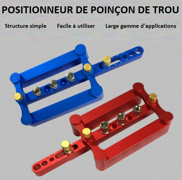 Positionneur De Poinçon De Trou Flash Ventes Rouge