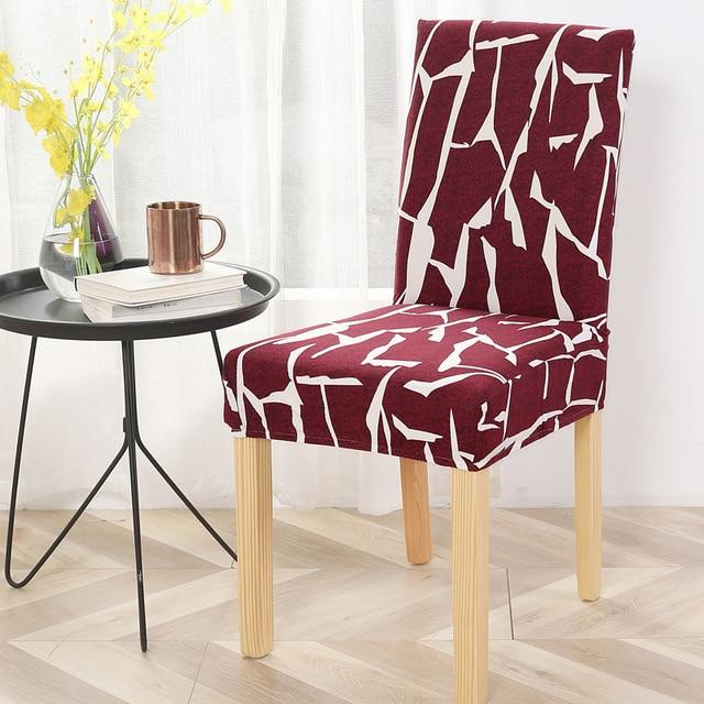 Housse De Chaise Multicolore Extensible Raton Malin Motif 1