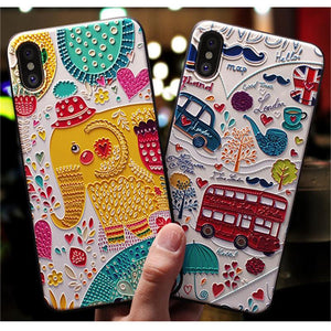 Coque Iphone en Relief 3D raton-malin