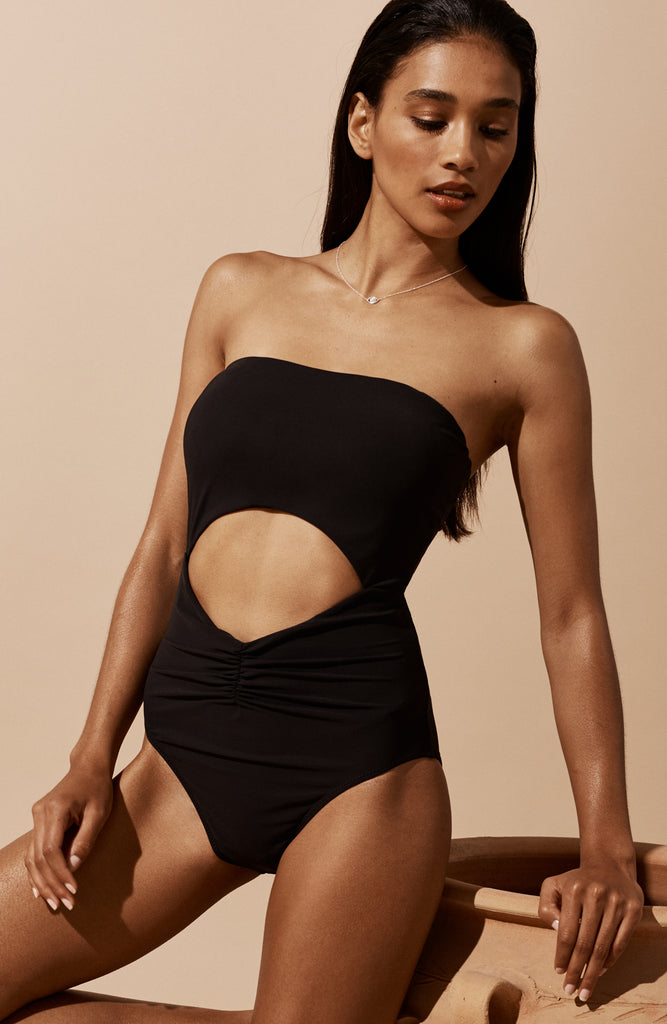 Aphrodite Maillot in Onyx