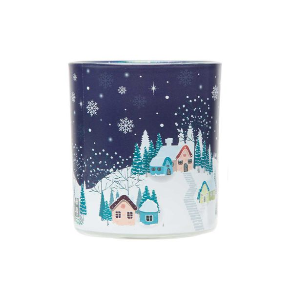 Wax Lyrical Decal Candle Winter Wonderland