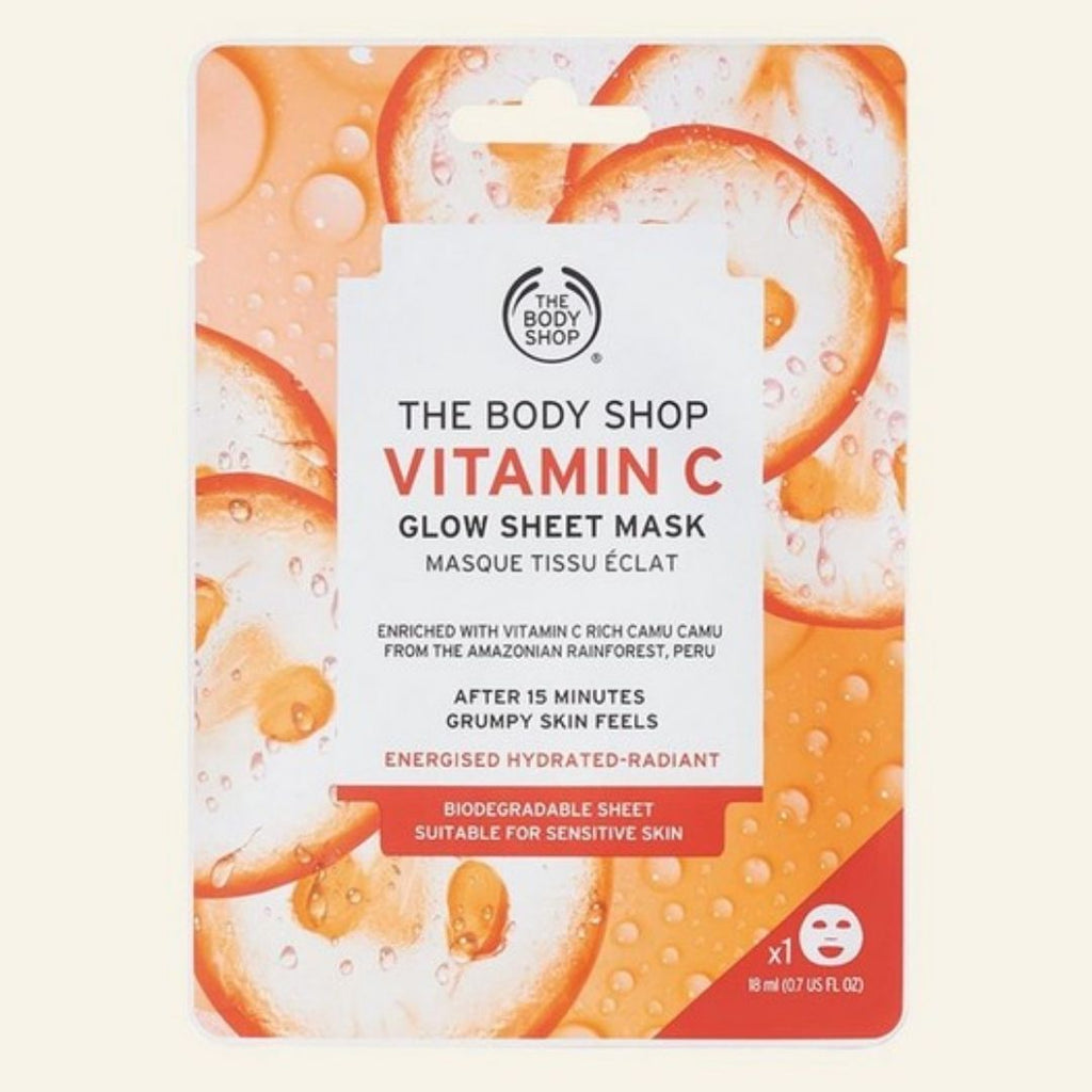 The Body Shop Vitamin C Glow Sheet Mask