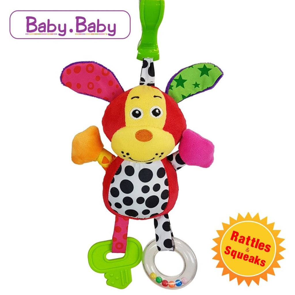 BabyBow Puppy Clamp Toy