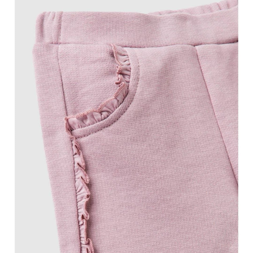 Benetton Sweatpants with Rouches