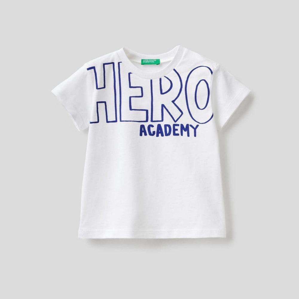 Benetton T-Shirt with Slogan