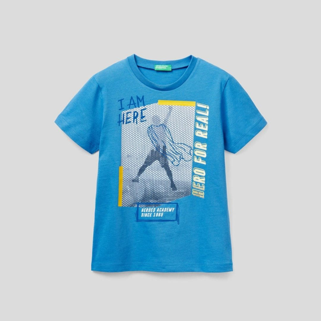 Benetton T-Shirt with Graphic Print