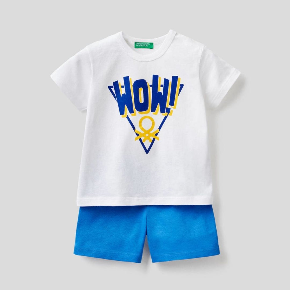 Benetton T-Shirts and Shorts Set