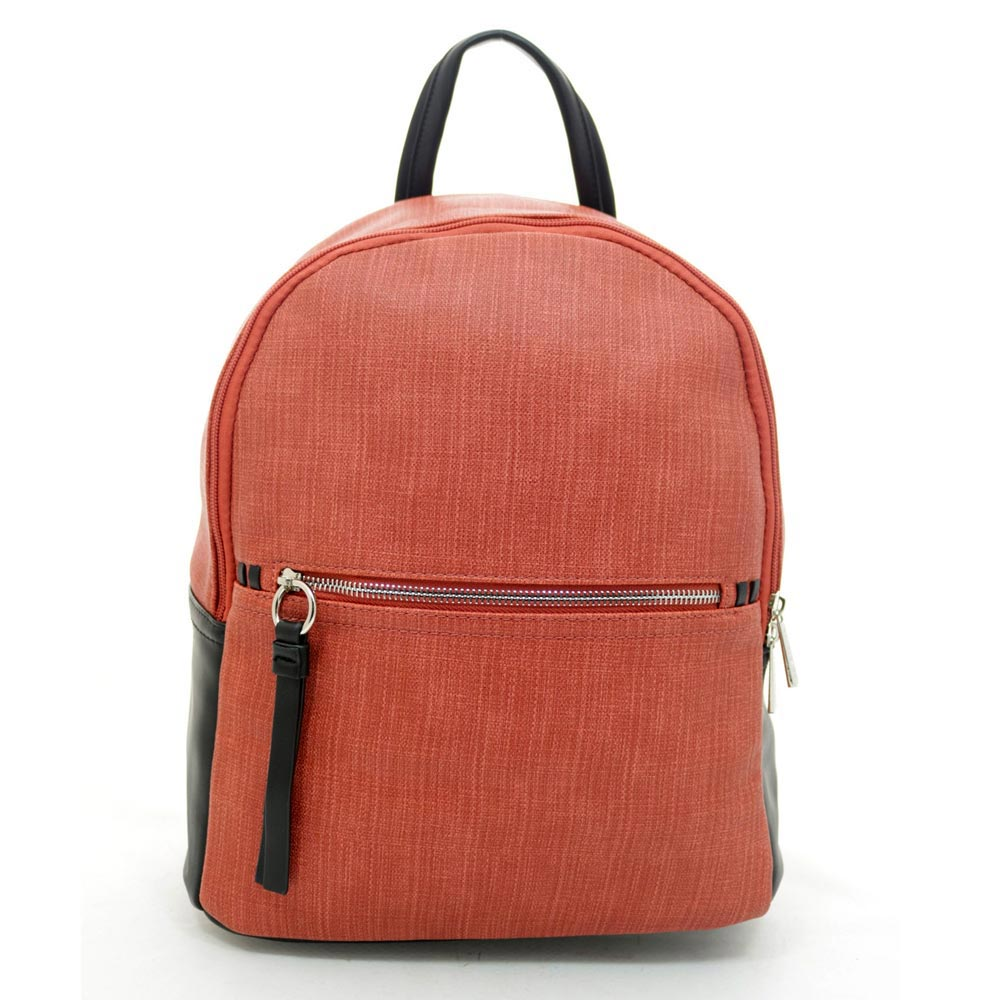 David Jones Brick Red Backpack