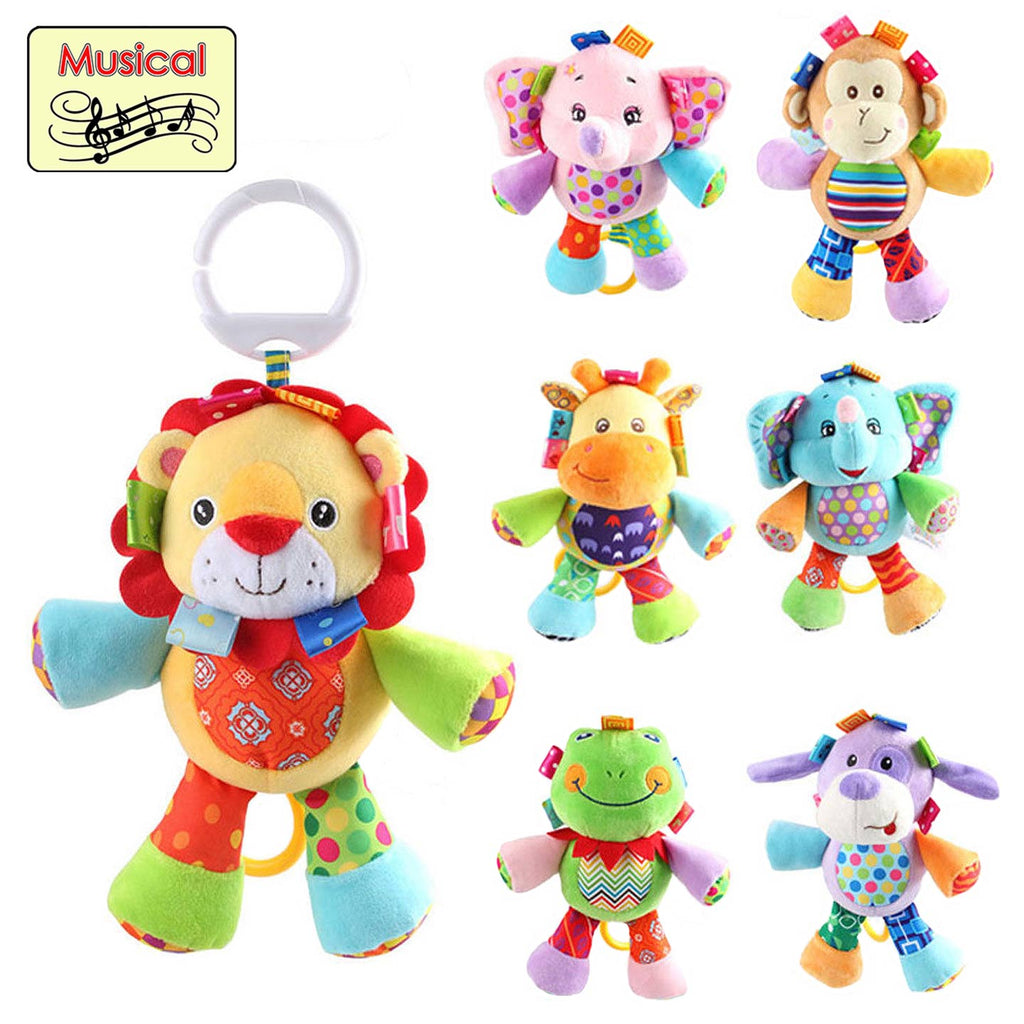 BabyBow Assorted Styles Musical Pull Toys