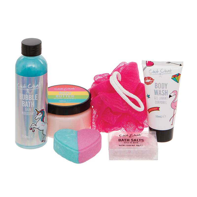 Chit Chat Bathtime Treats Gift Set