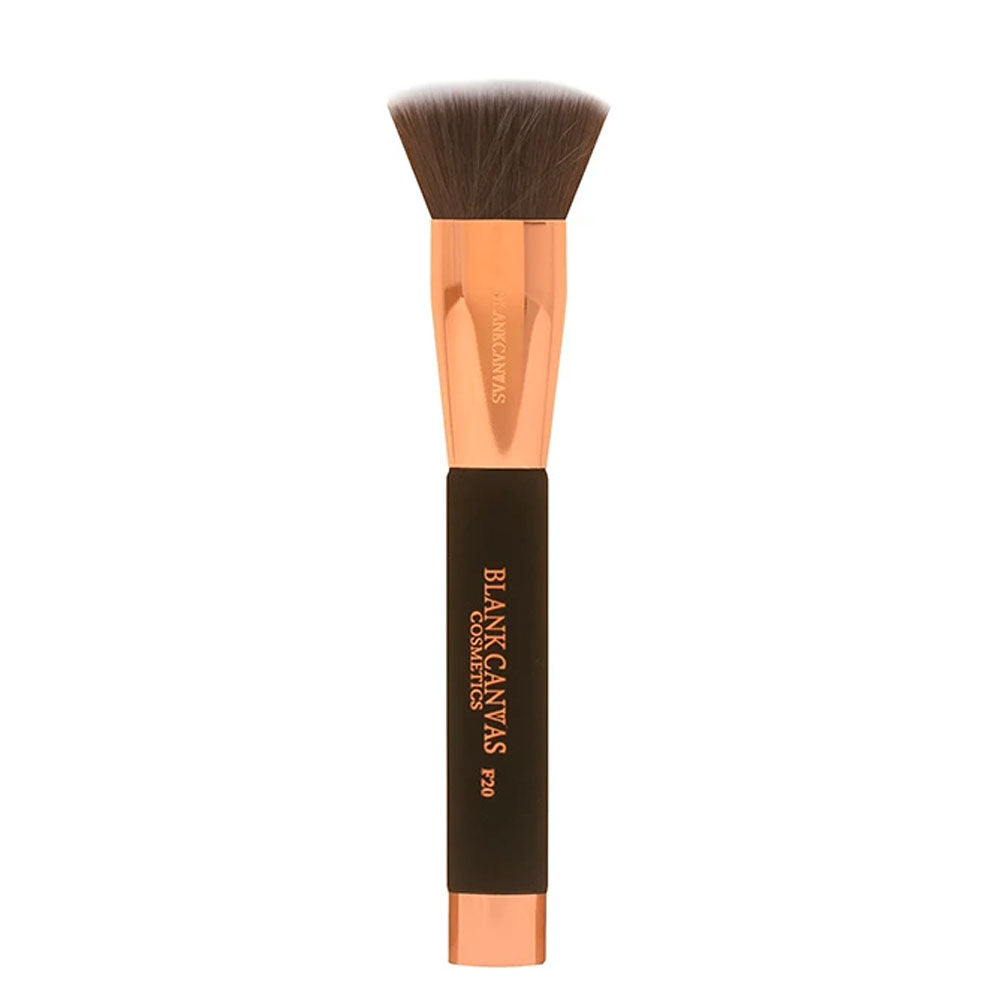 Blank Canvas F20 Foundation Buffer Brush - Rose Gold