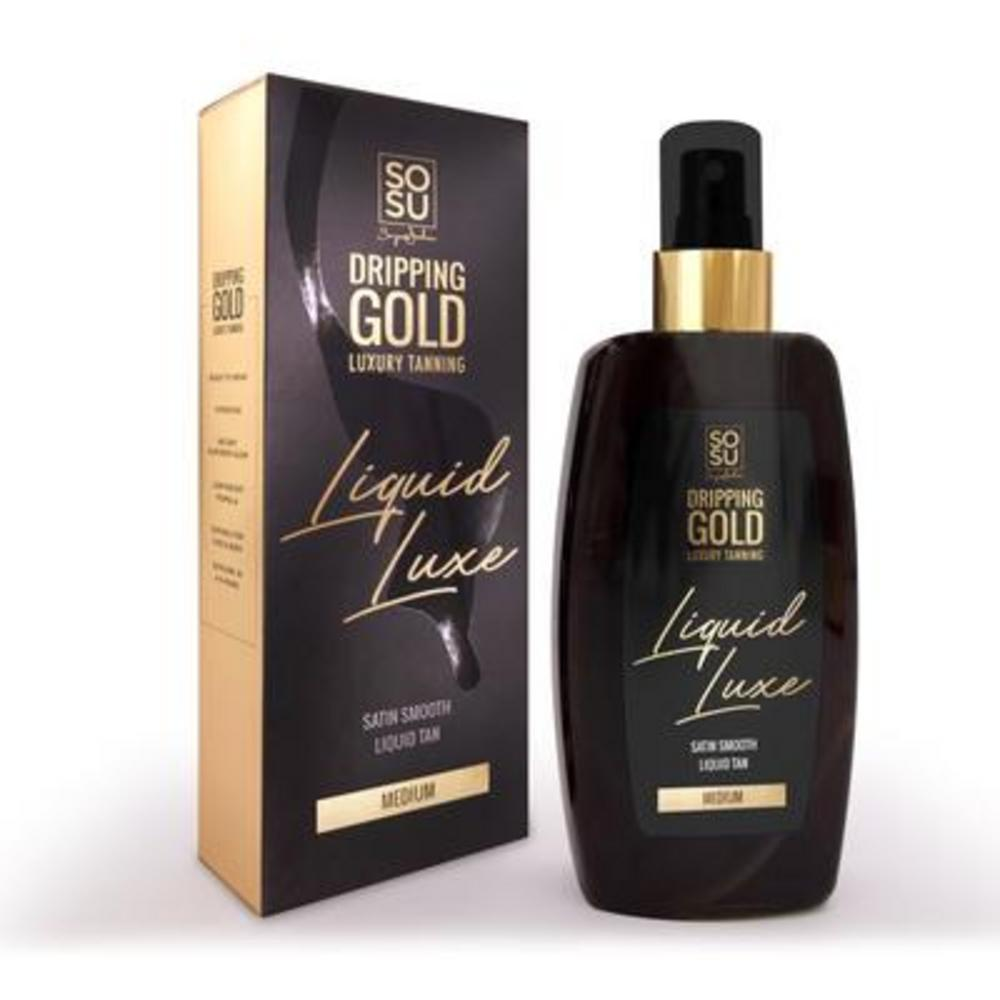 SoSu Dripping Gold Liquid Luxe
