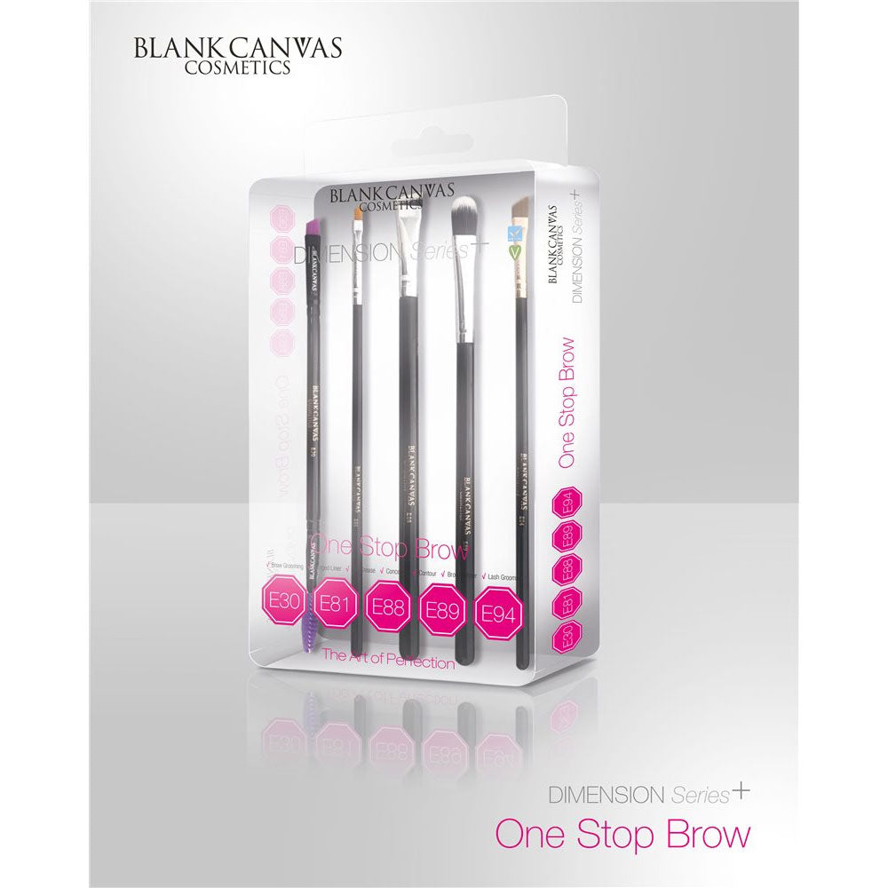 Blank Canvas One Stop Brow Brush Set