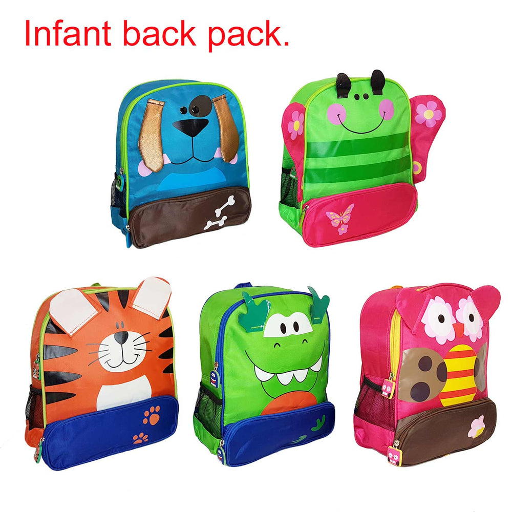 BabyBow Childrens Backpack with 3D Effect.