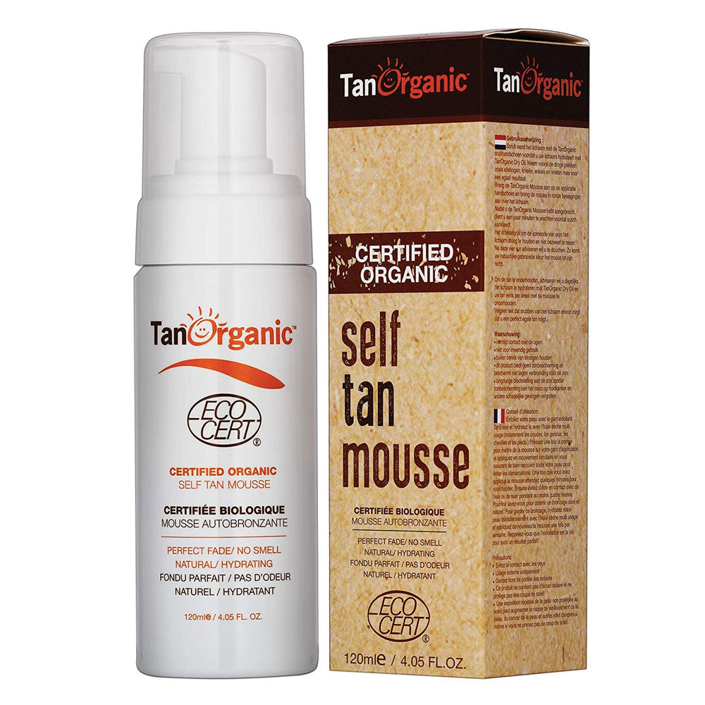 Tan Organic Self Tan Mousse
