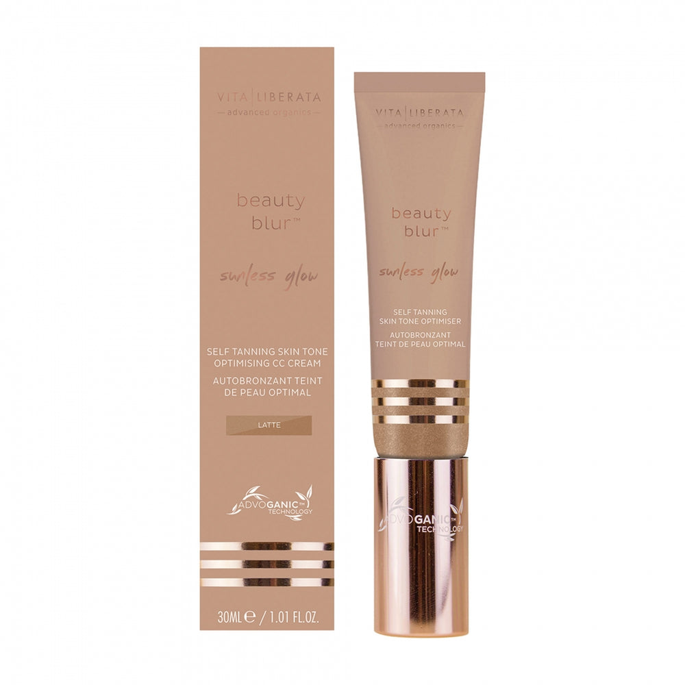 Vita Liberata Beauty Blur Sunless Glow for the face.
