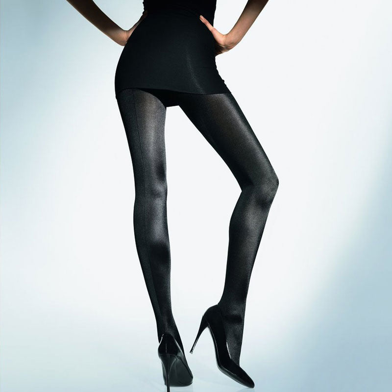 Wolford Satin De Luxe Tights - Good's. Kilkenny's leading ladies fashion store.