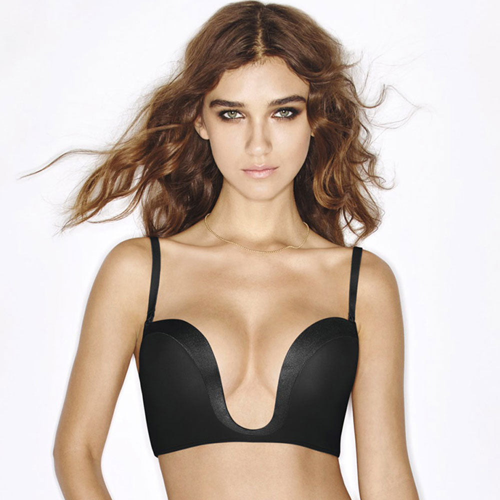 Wonderbra Ultimate Plunge Push Up Bra - Good's. Kilkenny's leading ladies fashion store.