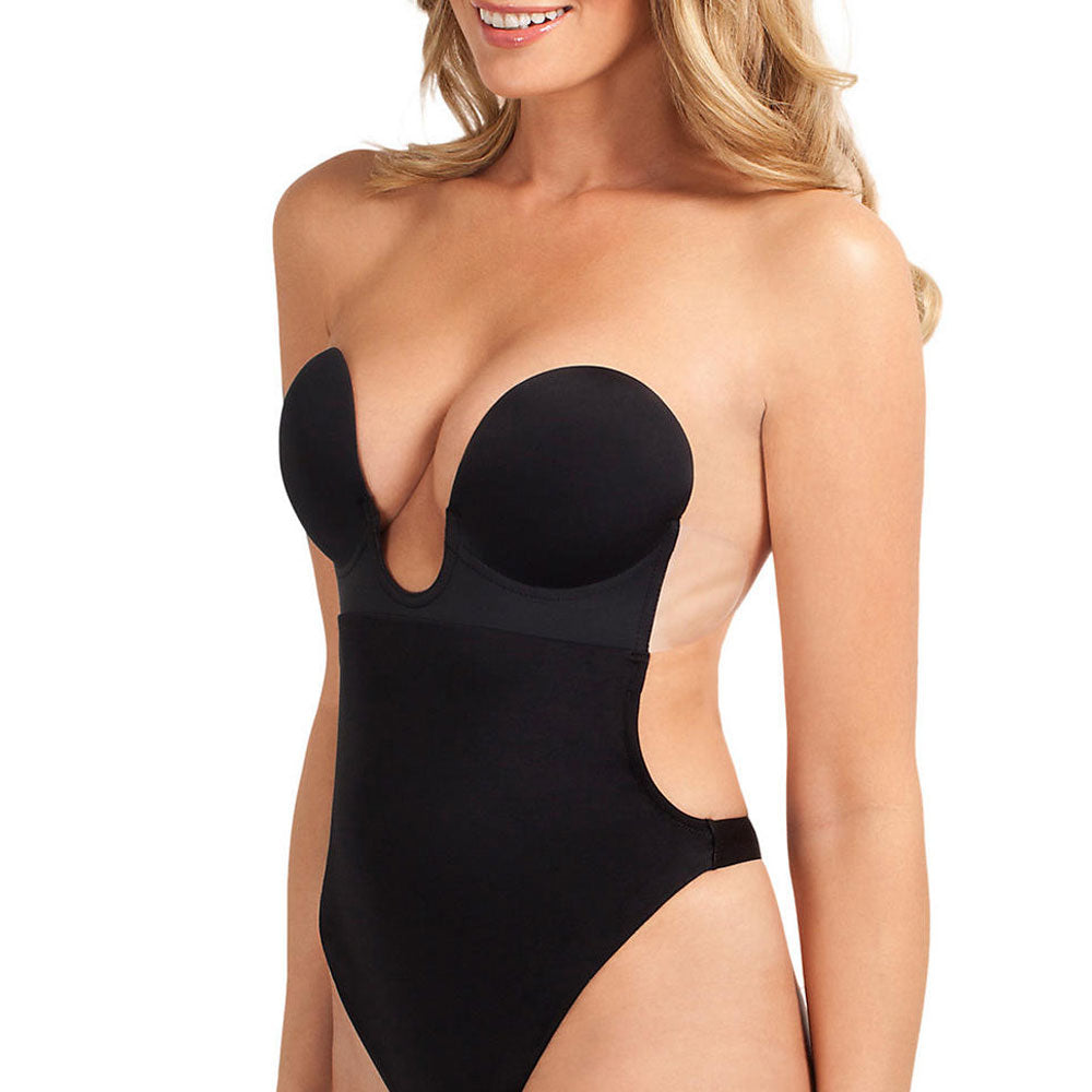U Plunge Backless Strapless Bodysuit - Good's. Kilkenny's leading ladies fashion store.