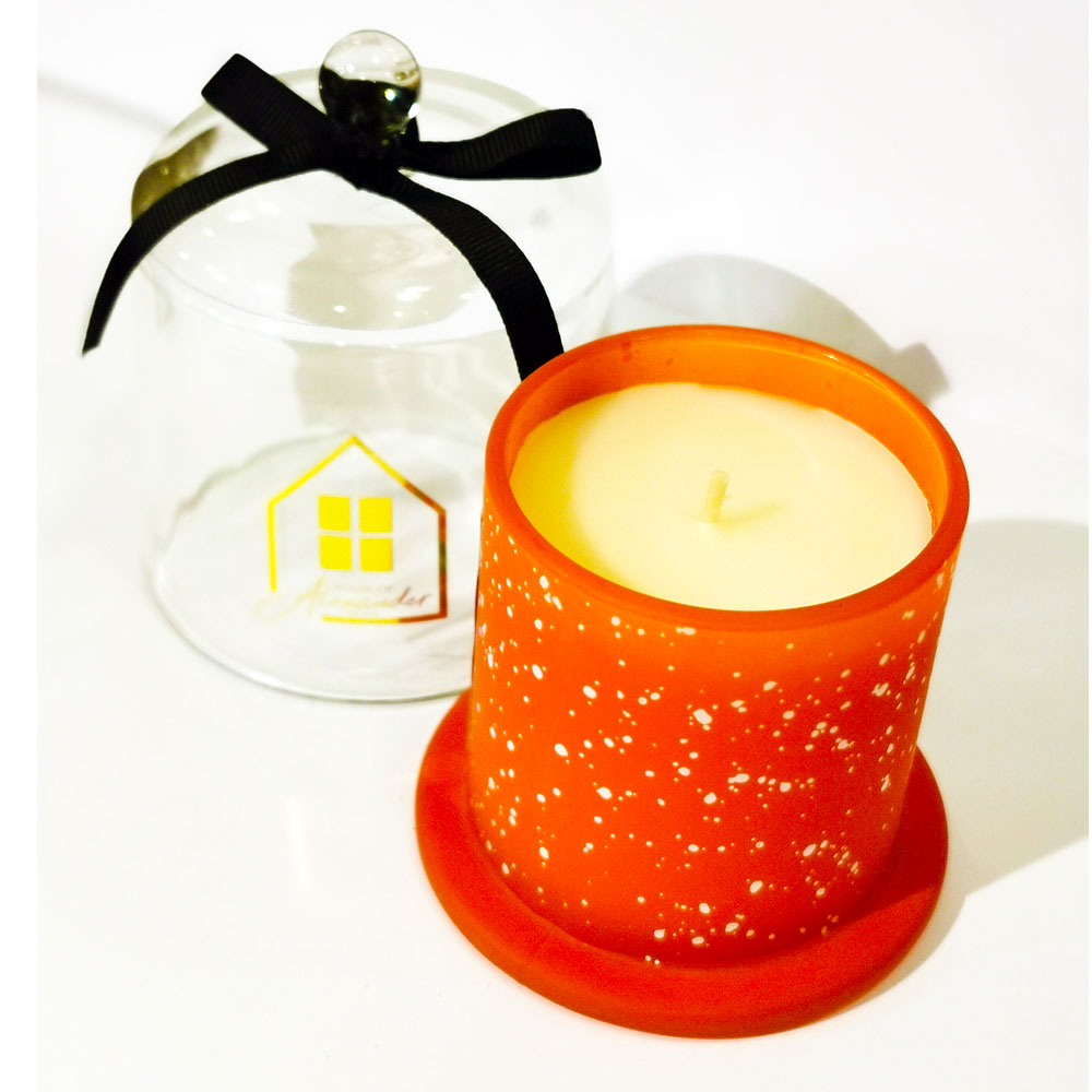 House of Alexander Deluxe Cloche Cinnamon Candle