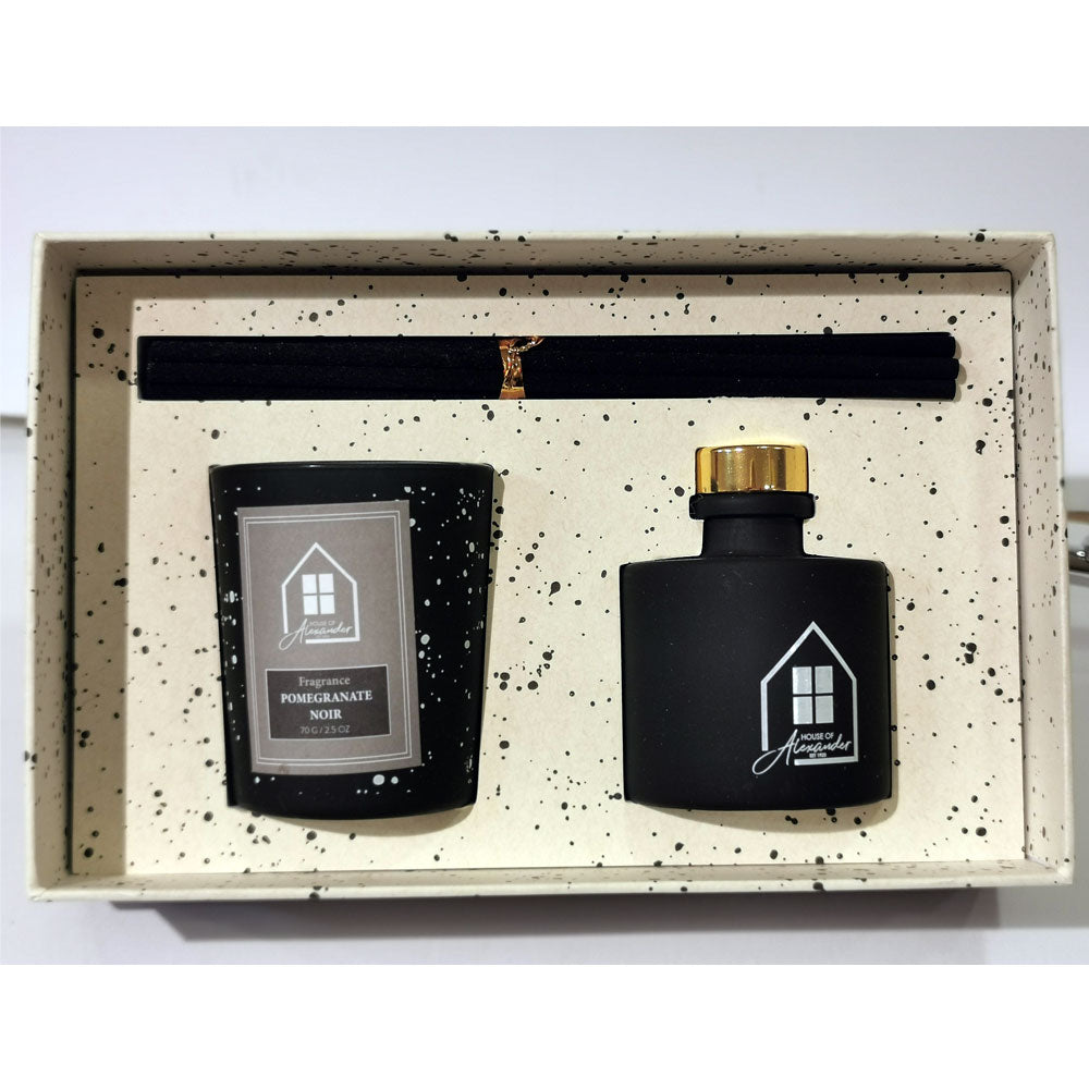 House of Alexander Deluxe Candle Pomegranate Noir Gift Set