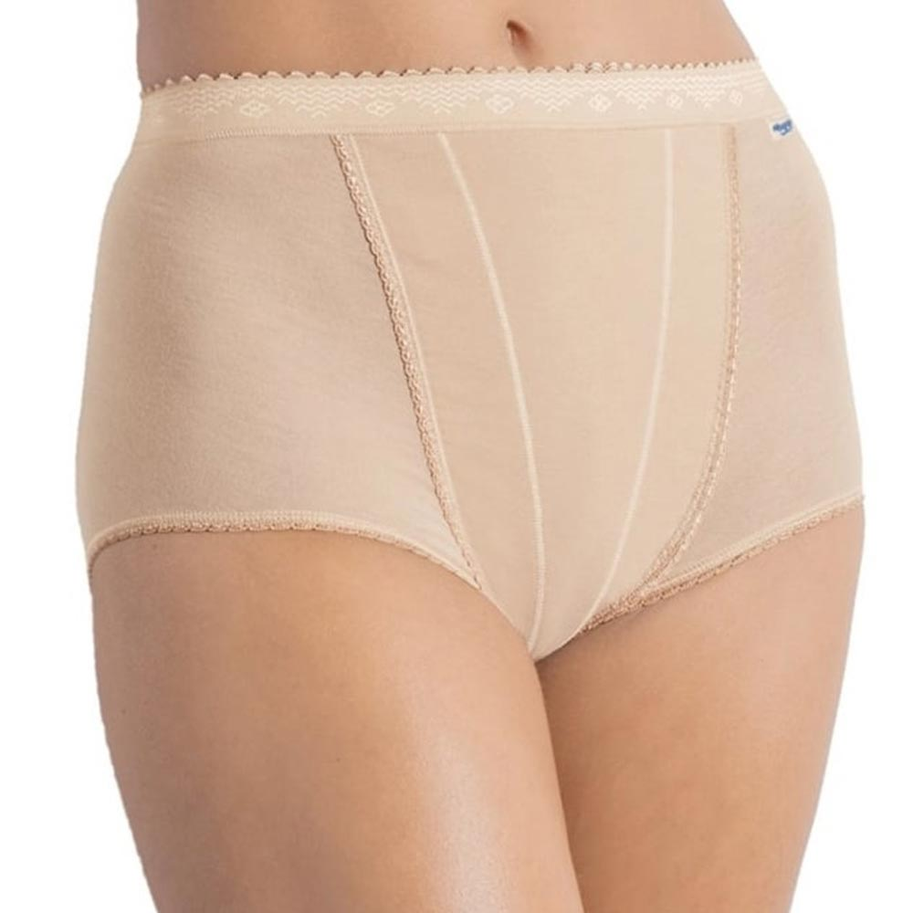 Sloggi Control Maxi Brief - 2 pack - nude