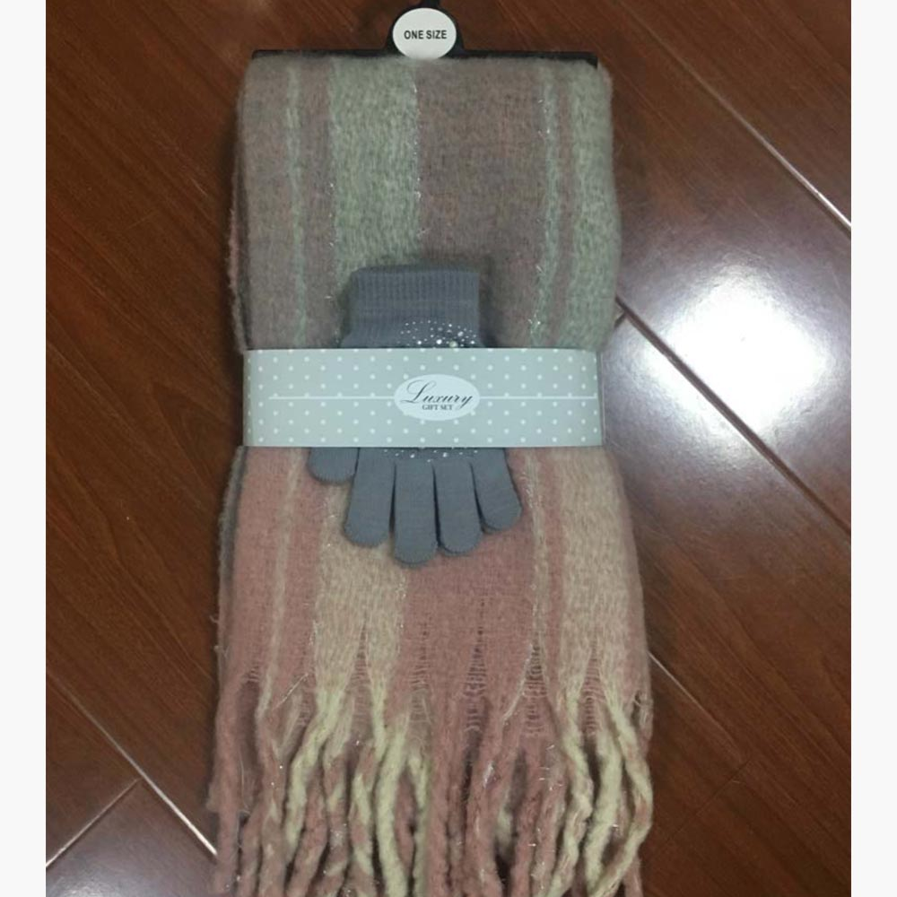 Label Accessories Cosy Scarf and Gloves Set