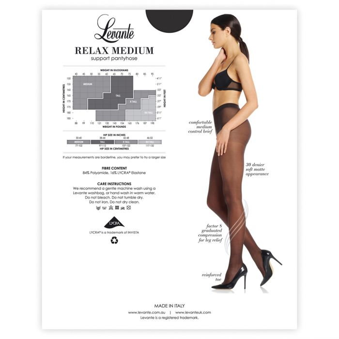 Relax Medium Support Tights - Good's. Kilkenny's leading ladies fashion store.
