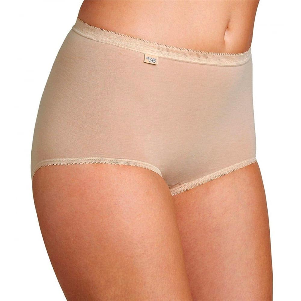 Sloggi Basic+ Maxi Brief - 4 pack - nude