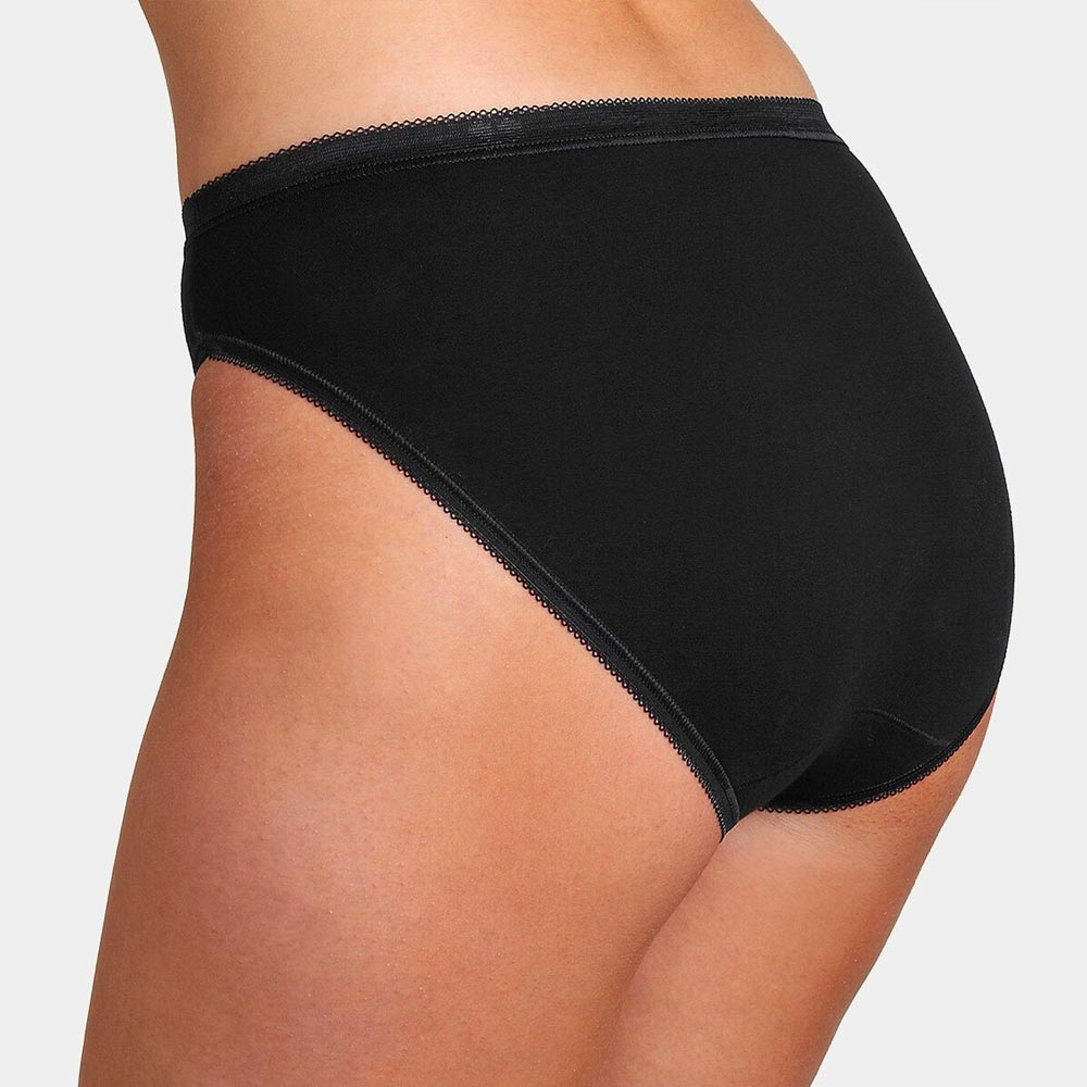 Sloggi Basic+ Tai Brief - 4 pack - black