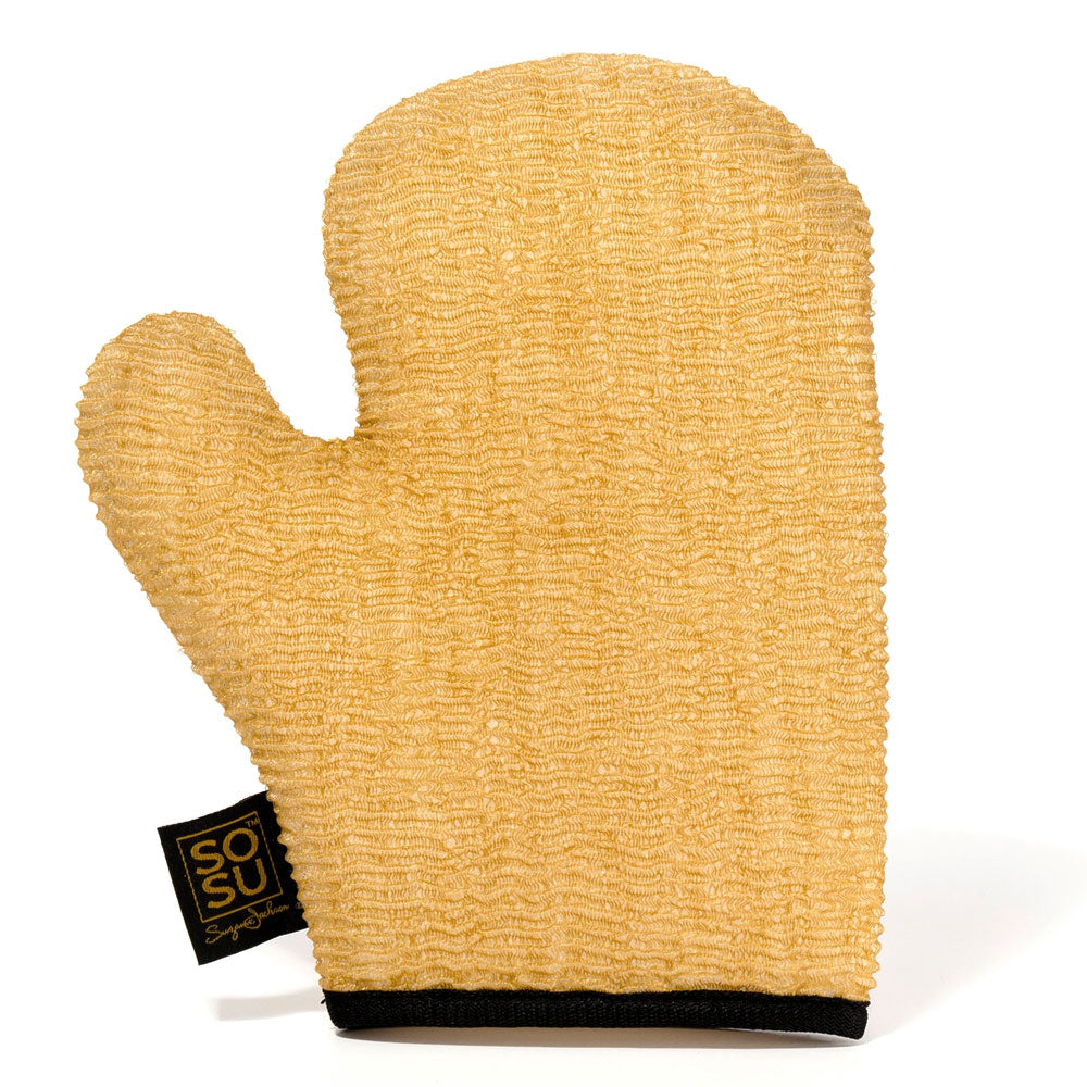 SoSu Dripping Gold Luxury Exfoliating Mitt