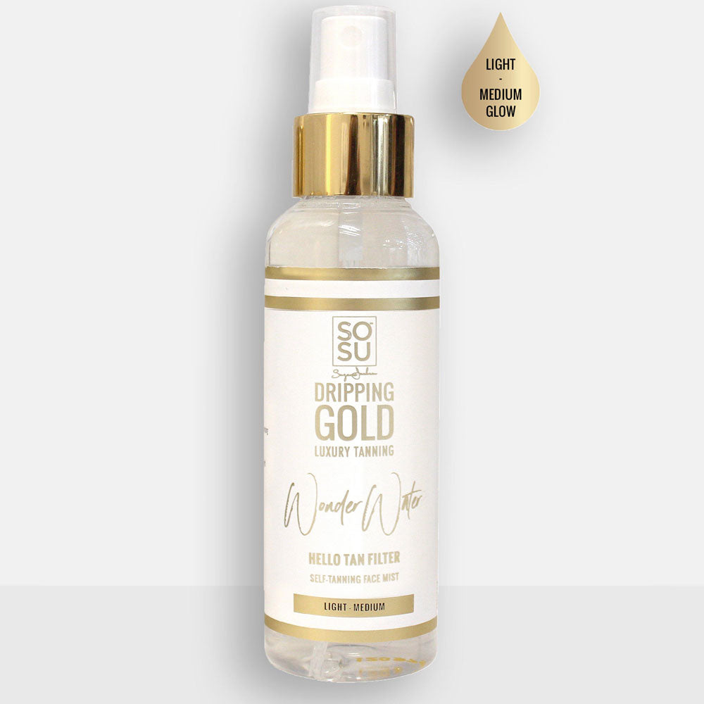 SOSU Dripping Gold Wonder Water Face Mist - Good's. Kilkenny's leading ladies fashion store.