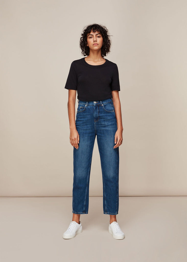 Whistles Authentic Barrel Leg Jean