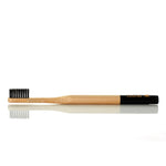 Bamboo Toothbrush - Black, Soft bristles