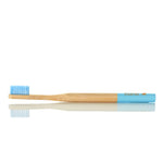 Bamboo Toothbrush - Blue, Soft bristles
