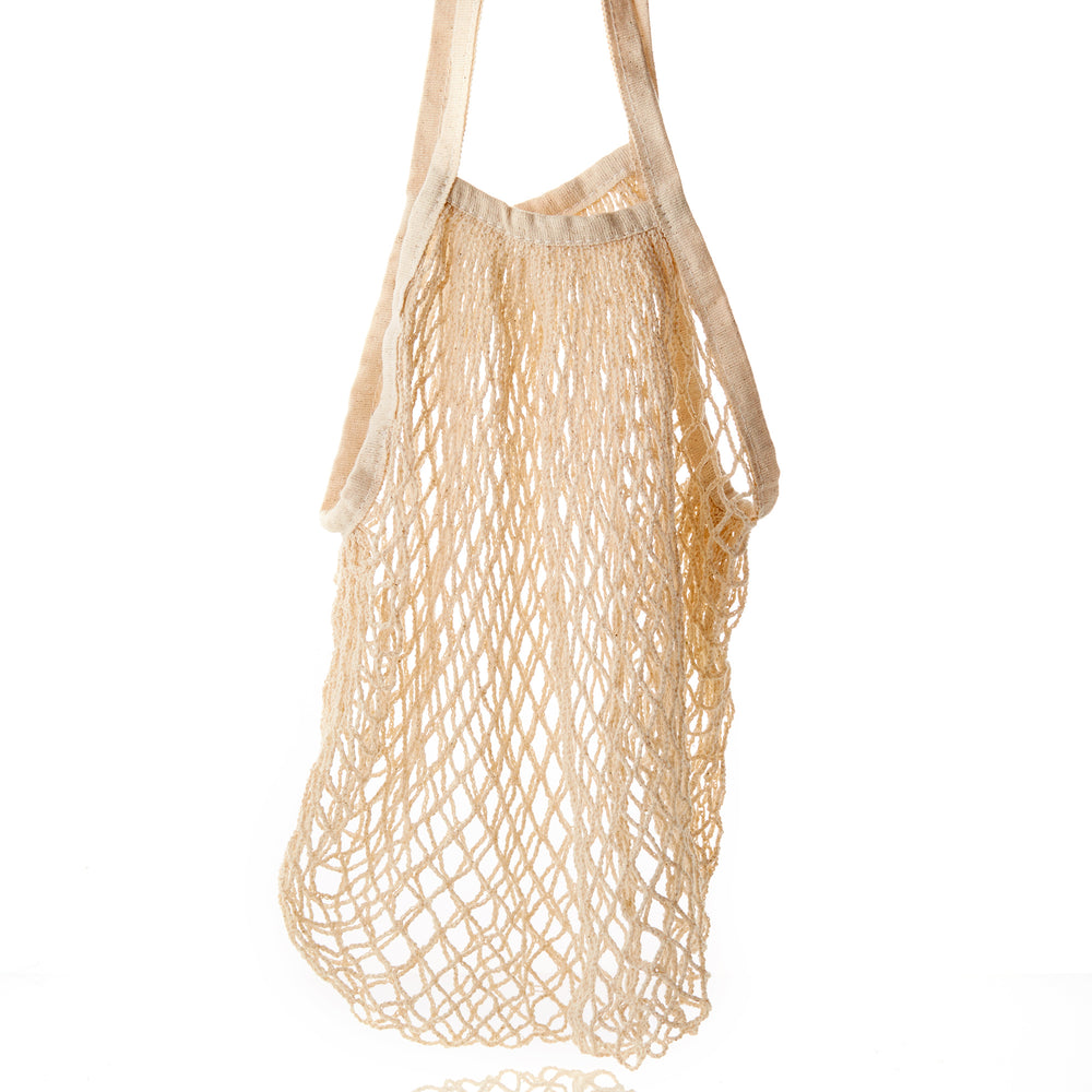 Turtle Net Bag - Light Beige