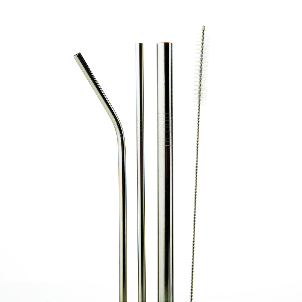 Stainless Steel Straws - Silver