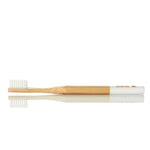 Bamboo Toothbrush - White, Soft Bristles
