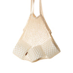 Turtle Net Bag (Light Beige) - Ecotiki