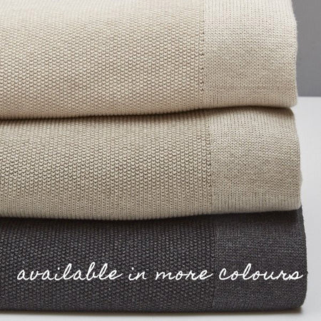 BEMBOKA TREISTE COMBED COTTON BLANKET