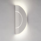 FURL WALL LIGHT CIRCLE WHITE