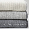 BEMBOKA EDGE RIB MERINO WOOL THROW