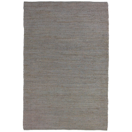 NATURAL JUTE SLATE RUG by CADRYS