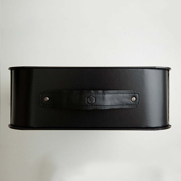 THE MIAMI MEDIUM STORAGE BOX BLACK